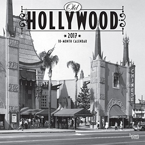 Old Hollywood - 2017 Calendar 12 x 12in (Old Hollywood Table compare prices)