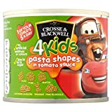 Crosse & Blackwell 4 Kids Disney Cars Pasta Shapes in Tomato Sauce (213g)
