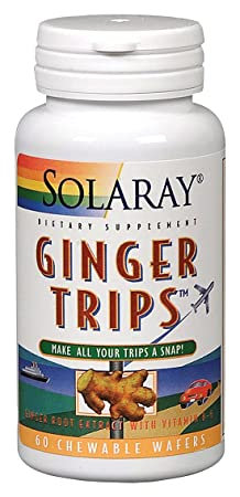 Отзывы Solaray - Ginger Trips, 60 wafers