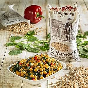 Amazon.com : El Maragato Premium Garbanzo Beans from Spain ( 2.2 lb/1