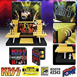 KISS Alive II Stage & Action Figures - Convention Exclusive