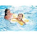 Inflatable Star Shape Swim Tube Ring - Blow Up Floating Tube Raft Tube For Swimming Pool Beach For Age 3 To 6...