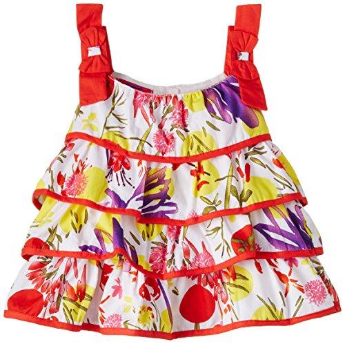 Cupcake Baby Girls' Dress (M9-9-2477_Red_24 months)