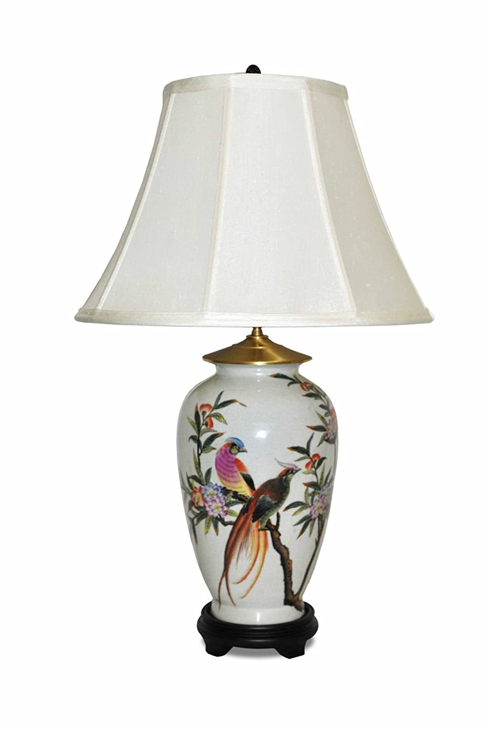 Royal Phoenix Porcelain Table Lamp Wshade Home Improvement