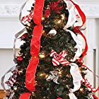 Brylanehome Watch Video! Flat-To-Fabulous Fully Decorated, Pre-Lit 6Ft Christmas Tree