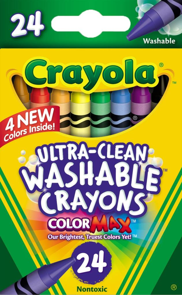 Buy Crayola Washable Crayons, Multi Color Online at Low Prices in ...