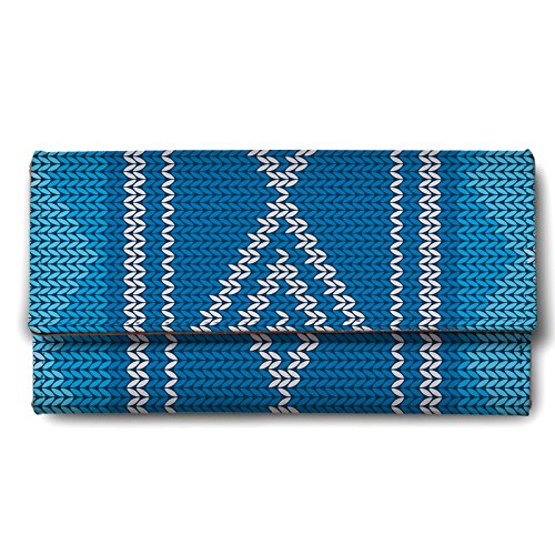 ShopMantra-Blue-Textile-Print-Ladies-Wallet