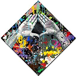 Maxwell Dickson ''CONTROversies'' Graffiti Pop Art Modern Canvas Art Print