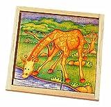 Voila Wooden Safari Jigsaw Giraffe