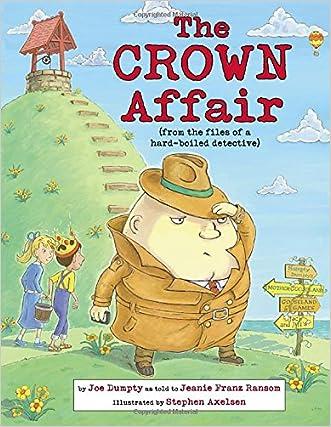 The Crown Affair (Nursery-Rhyme Mysteries) written by Jeanie Franz Ransom
