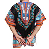 RaanPahMuang-Unisex-African-Bright-Dashiki-Cotton-Shirt-Variety-Colors