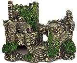【J's select】水槽用 オブジェ 古代 遺跡 神殿 建物 アクアリウム オーナメント ...