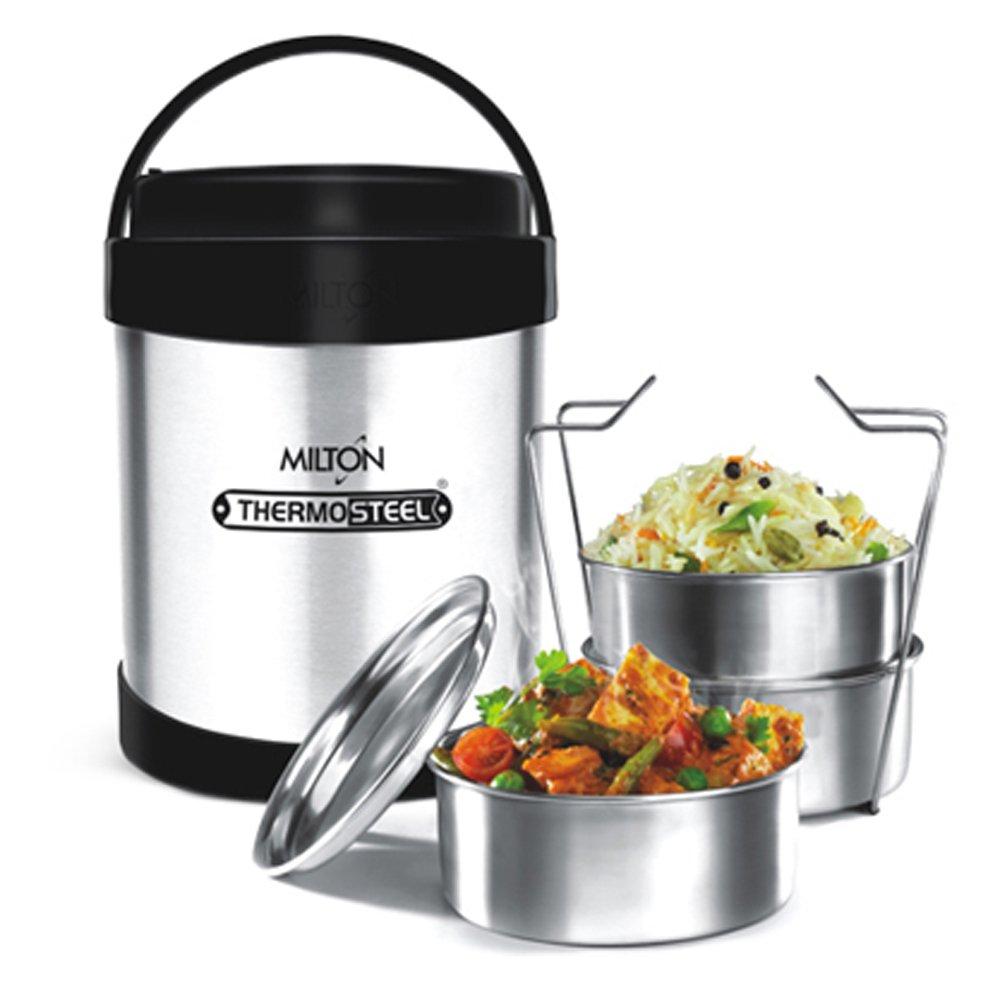 Milton Premium ROYAL 3 Lunch Box/Tiffin Box OUTER STEEL ...