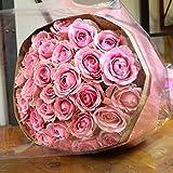 〔エルフルール〕バラの花束 50本 カラー:ピンク 結婚記念日 プレゼント 薔薇 誕生日祝い 贈り物