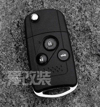 Remote Flip Key Shell Case For Honda 3 Button Accord Crv Civic Fit Pilot