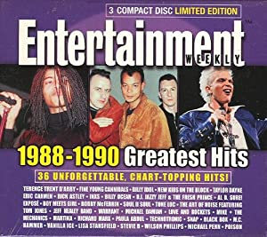 Various entertainment weekly greatest hits 1988 1990 3 for Biggest songs of 1988