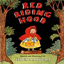 Red Riding Hood (       UNABRIDGED) by James Marshall Narrated by Donal Donnelly
