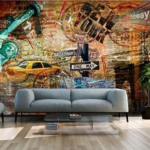 Partager facebook twitter pinterest eur 39 90 eur 7 90 livraison - Papier peint xxl new york ...