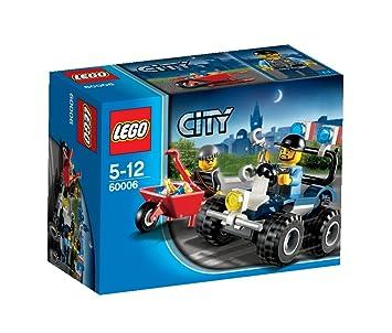 Lego City - 60006 - Jeu de Construction - Le 4x4 de la Police Spéciale