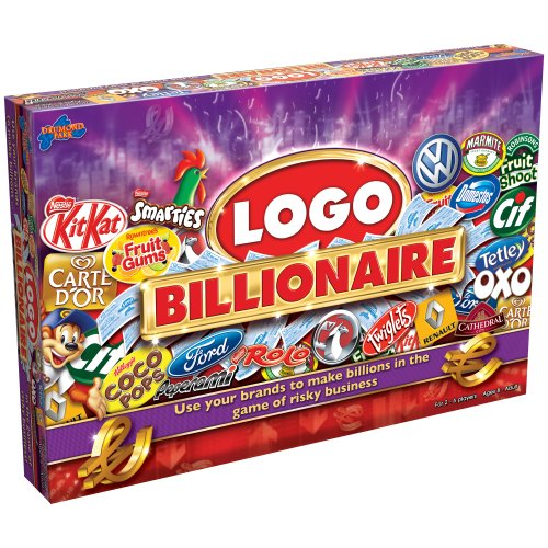 Logo Billionaire Game - Jeu du Logo Milliardaire Version Anglaise (Import Royaume-Uni)
