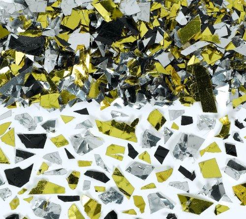confetti pty spkle fl silv gold blk
