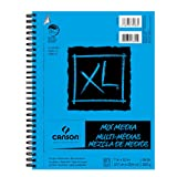 Canson XL Mixed Media Pad 7X10 6 Pack (Color: White, Tamaño: 7-x-10-Inch)