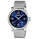 Wenger urban metropolitan 01.1041.125 Mens quartz watch (Color: Silver)