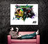 XD7198 Daft Punk Helmets House Music Art HUGE GIANT WALL Print POSTER