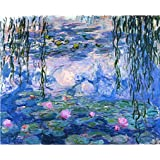 Tallenge Old Masters Collection - Waterlilies By Claude Monet - A3 Size Premium Quality Rolled Poster