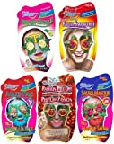 Montagne Jeunesse Face Masque Sachets Gift Set - Pack of 5