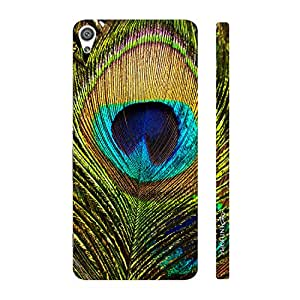 Enthopia Designer Hardshell Case Peacock pankh Back Cover for Sony Xperia XA