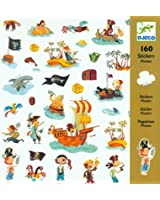 Djeco 160 Stickers - Pirates