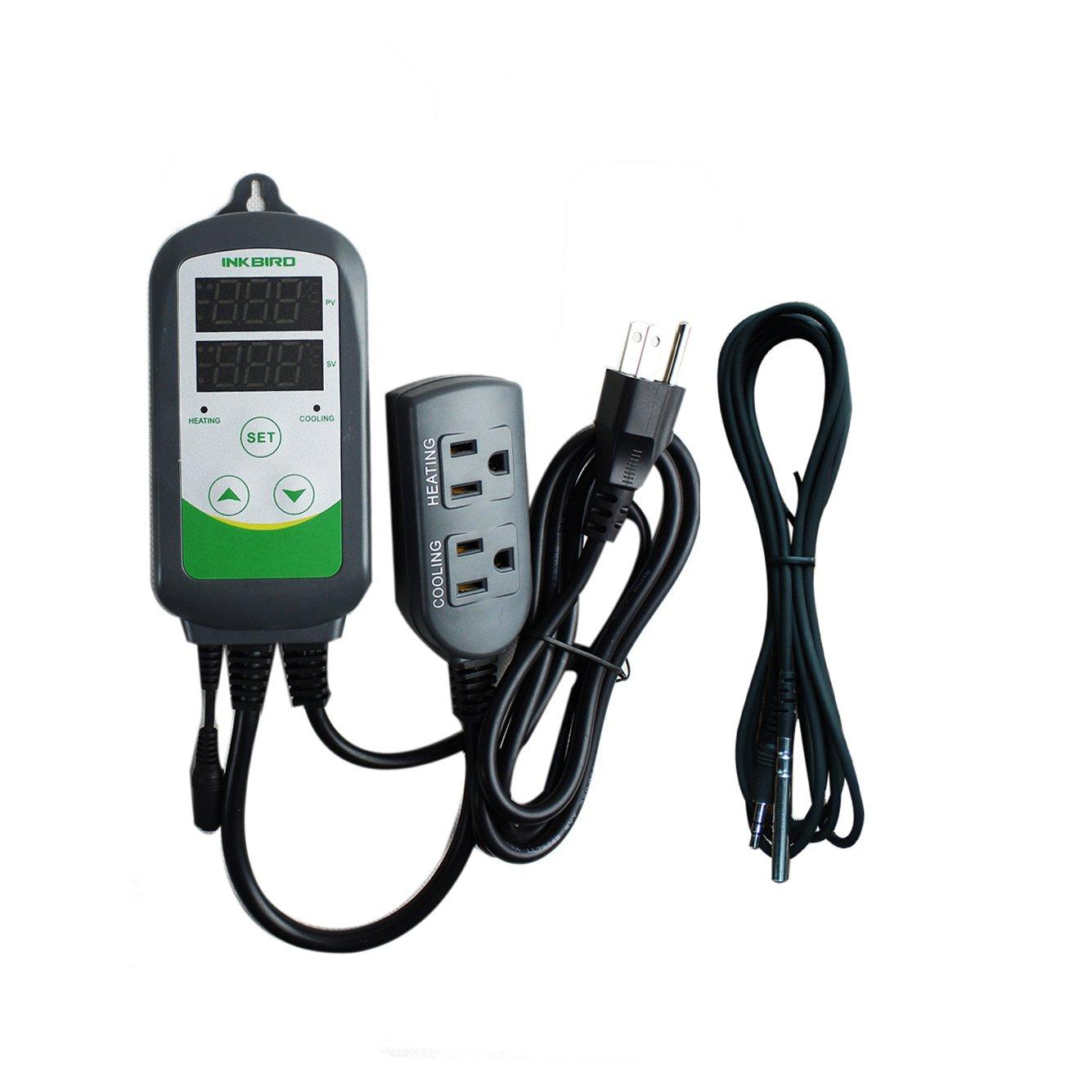 Hatching 110V Digital Temperature Controller Thermostats w/ Sensor #208D37