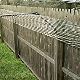 Cat fence enclosure system 100' Kit for adapting Existing Fences