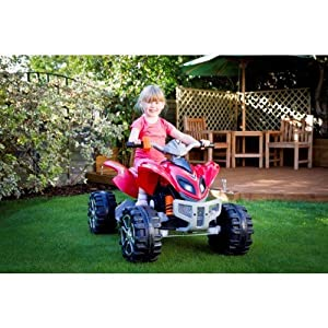 Duplay Raptor Extreme Kids Electric Ride on Quad Bike - 12v