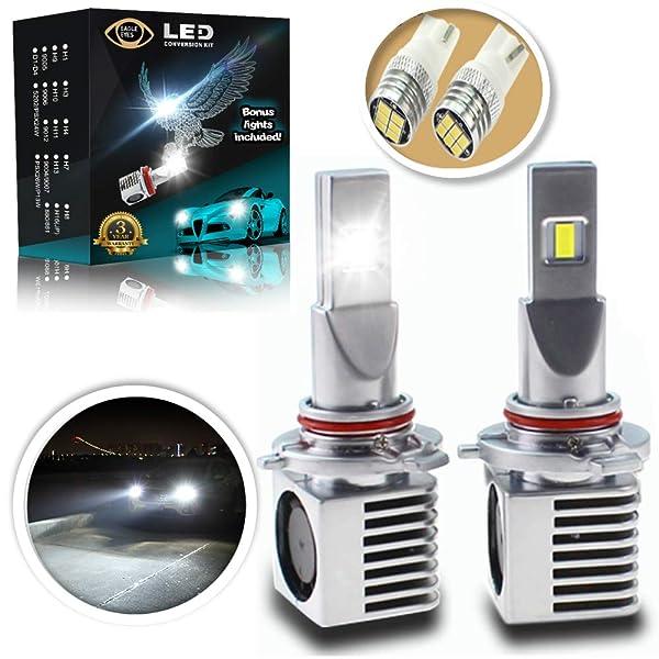 Eagle Eyes Extreme 9005 LED Headlight Bulbs - New Extended