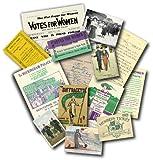 Suffragettes - Replica Memorabilia Pack