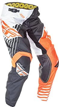 FLY MOTOCROSS / MTB 2016 Pantalon Kinetic Vector - orange- blanc