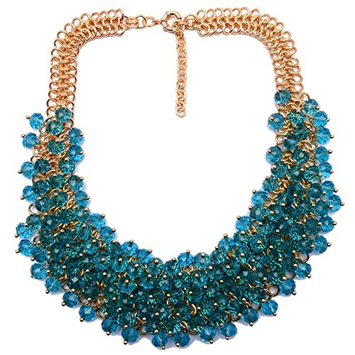 twopages-chunky-crystal-beaded-bib-collar-statement-necklace-blue-jewelry-gifts-for-women