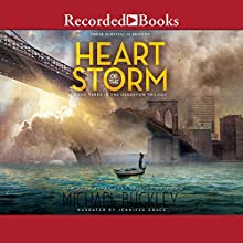 Heart of the Storm Audiobook by Michael Buckley Narrated by Jennifer Grace