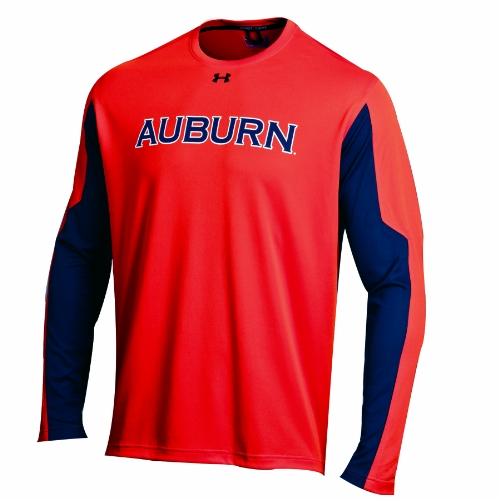 NCAA Auburn Tigers Orange Contender Long Sleeve Tee