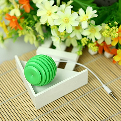 Andoer Mini Portable Speaker Amplifier Audio Dock With 3.5Mm Jack For Mobile Phone Pc Mp3 (Green)