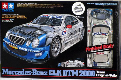 Tamiya 1/24 Mercedes-Benz CLK DTM 2000 (Pre-painted & decaled body)