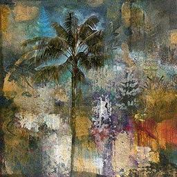24W x 24H Tropical Isle I by John Douglas - Stretched Canvas w/ BRUSHSTROKES
