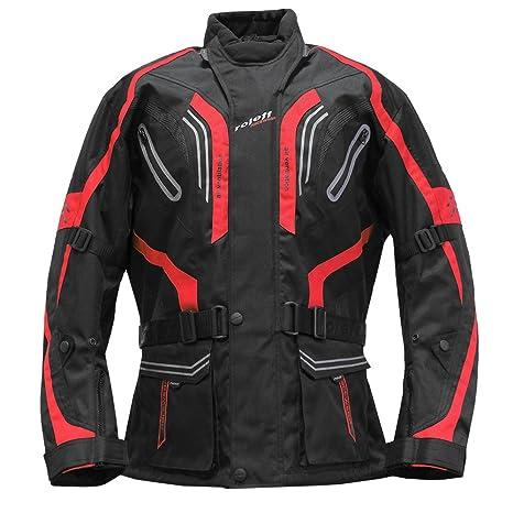 Roleff Racewear 5185 Blouson de Moto Lima Rouge