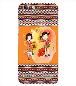 PrintDhaba Friends D-4179 Back Case Cover for LENOVO VIBE K5 (Multi-Coloured)