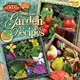 Farmers Almanac Garden Recipes 2015 Square 12x12