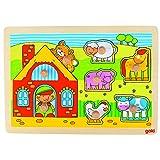 GoKi - Puzzle de madera, 8 piezas (2041566)