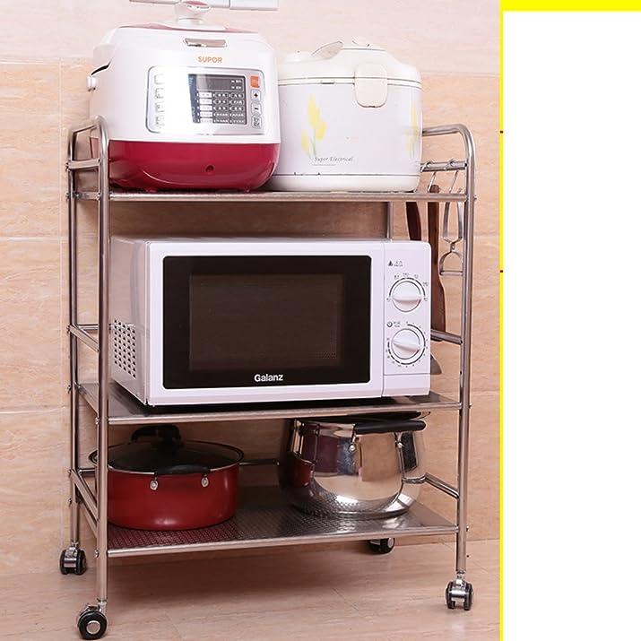 Cremagliere in acciaio inox/ scaffalature cucina/Bagno rack di stoccaggio/Quarti di bagno mensola in metallo-N