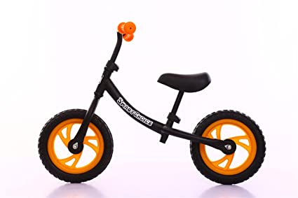 Pas de pédale Balance Bike for kids 12in , black , 12